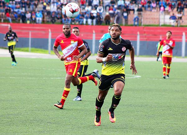 UTC tuvo el control del partido y lo ratificó en el marcador. (Foto: diario El Cumbe de Cajamarca)