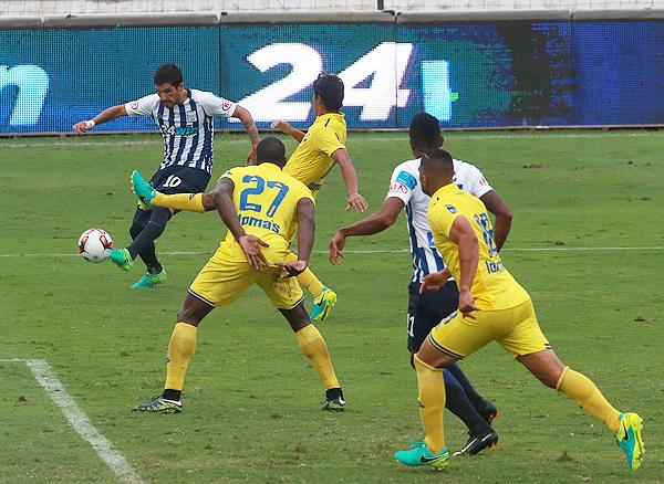 Alianza Lima no fu capaz de hacerle daño a Comerciantes. (Foto: Andina)