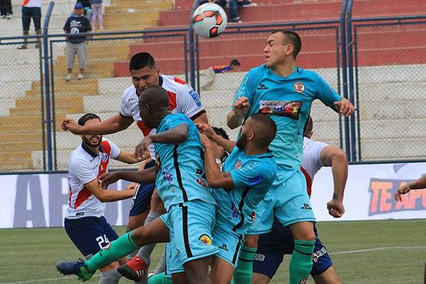 En Municipal no hubo puntería, en UTC sí. Cajamarca celebra lo que puede ser un momento cumbre. (Foto: Prensa Deportivo Municipal)