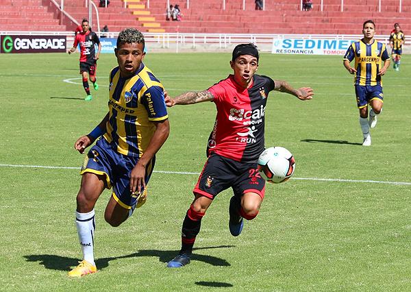 Melgar y Rosario igualaron en Arequipa. El desenlace de la serie debe esperar. (Foto: prensa Sport Rosario)