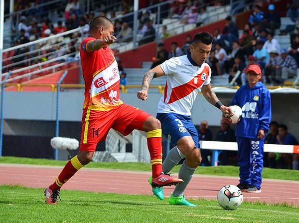 Municipal fue superado por Huancayo. El factor altura influyó en el partido. (Foto: Prensa Deportivo Municipal)