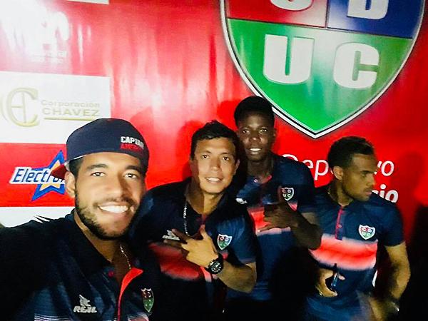 David Díaz, Pedro Bautista y Edy Rentería, los tres con caraterísticas distintas. (Foto: prensa Unión Comercio)