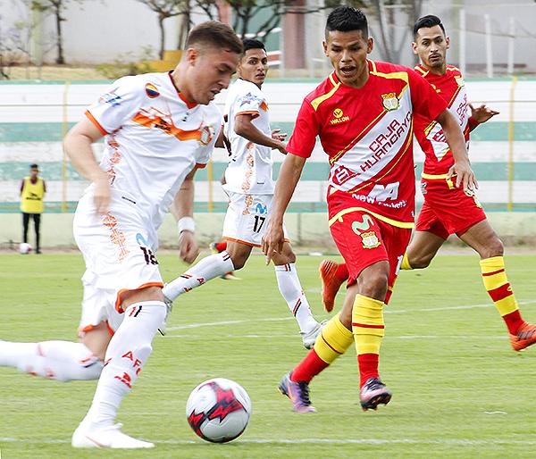 Daniel Morales tuvo un aceptable desempeño pese a la derrota de Huancayo. (Foto: Ciro Madueño)