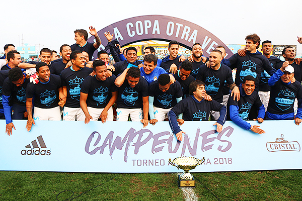 Cristal, un campeón indiscutible. (Foto: Pedro Monteverde / DeChalaca.com)