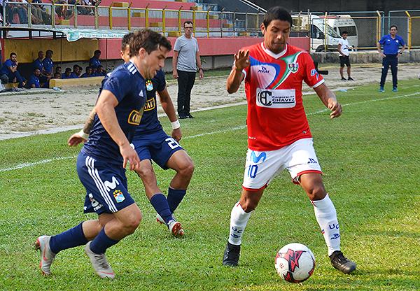 Gabriel Costa y Reimond Manco despliegan talento en Moyobamba. (Foto: Jhon Guevara)