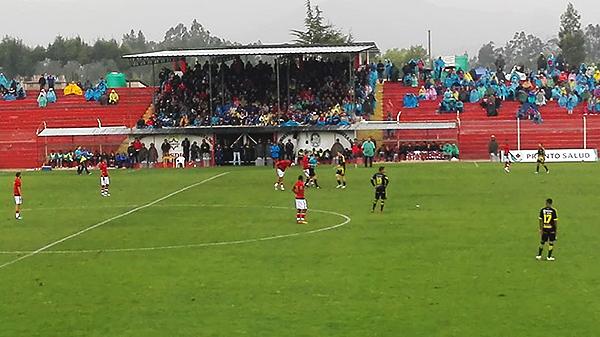 El estadio Cristo El Señor estuvo marcado por las lluvias. (Foto: Jany Arana)