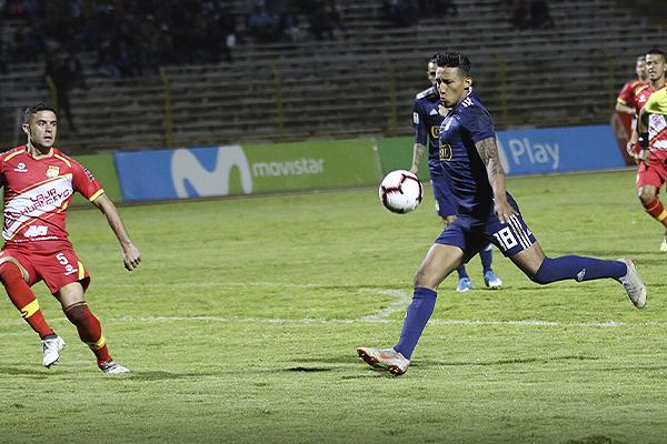 'Canchita' estuvo intratable en la 'Incontrastable'. El ex Colo-Colo demostró su valor. (Foto: Pedro Monteverde / DeChalaca.com)