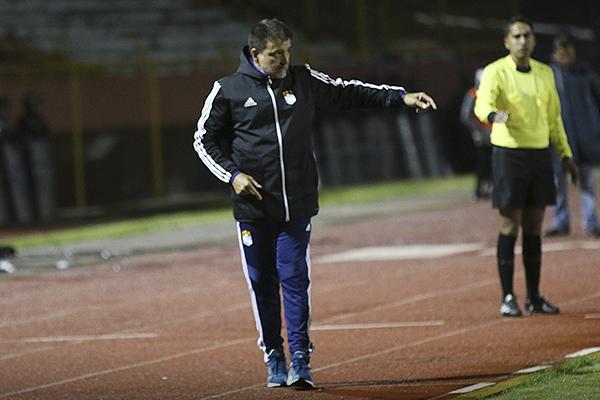 Claudio Vivas no tenía que hacer muchos cambios a lo que presentó Cristal. (Foto: Pedro Monteverde / DeChalaca.com)