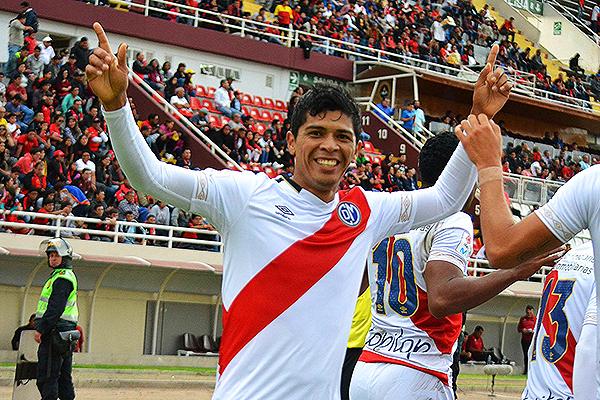 El 'Mudo' habló con gol en Arequipa. (Foto: Prensa Deportivo Municipal)