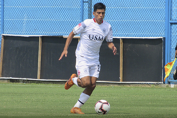 Guivin cumplió como lo hizo en la temporada pasada. Sólido y prolijo en el medio. (Foto: Aldo Ramírez / DeChalaca.com)