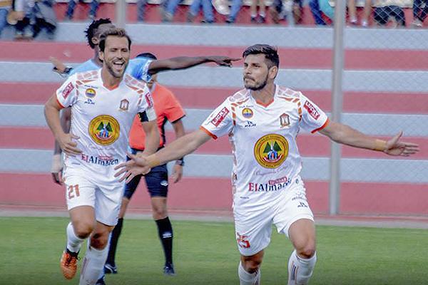 El primer gol de Martínez, gritado con el alma por el paraguayo, se llevó las palmas en el Ciudad de Cumaná. (Foto: Prensa Ayacucho FC)