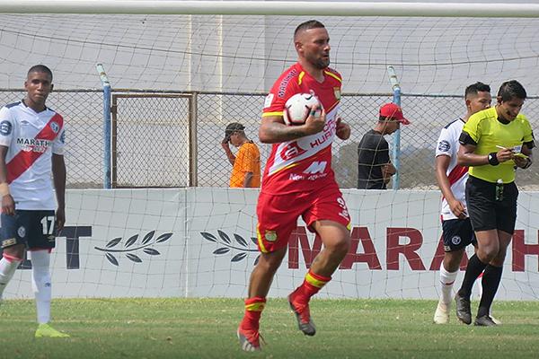 Neumann fue el mejor atacante de Huancayo en Huacho. (Foto: Mario Azabache / DeChalaca.com)