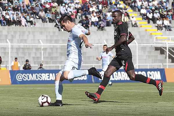 Christian Ramos no comenzó con el pie derecho precisamente en Melgar. (Foto: José Carlos Angulo / DeChalaca.com)