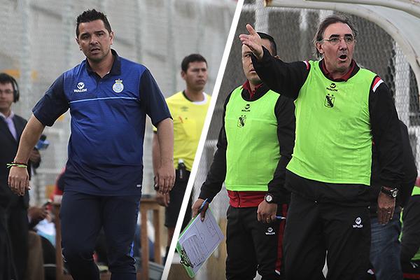 Mientras Tapia ya le tomó la mano a los beneficios de su localía, Pautasso acabó expulsado. (Foto: José Carlos Angulo / DeChalaca.com)