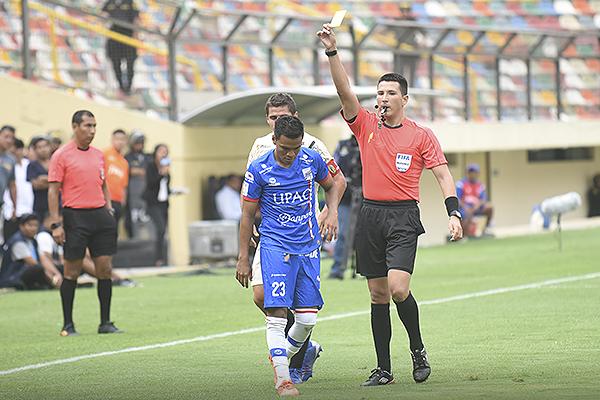 Ortega no estuvo alejado de la polémica. (Foto: Álex Melgarejo / DeChalaca.com)
