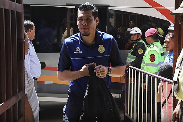 Hernán Rengifo ingresa al Heraclio Tapia. De hecho, el 'Charapa' se encontró con una marca pesada. (Foto: Mijail Úrsula / DeChalaca.com)