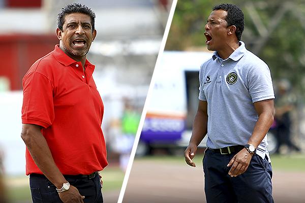 Soto y Zegarra, antiguos compañeros de selección, estuvieron inquietos, aunque fue 'Pablito' quien acabó más exaltado con el arbitraje. (Foto: Celso Roldán / DeChalaca.com)