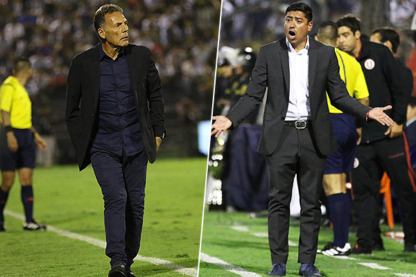 Russo sorprendió al no hacer variantes, en tanto que Córdova mantuvo el dibujo de la temporada. (Foto: Pedro Monteverde / DeChalaca.com)