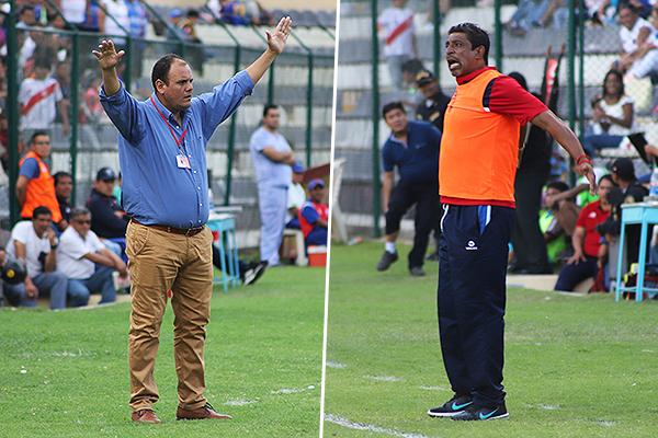 Revollar y Soto se volvieron a ver las caras. (Foto: Mijail Úrsula / DeChalaca.com)