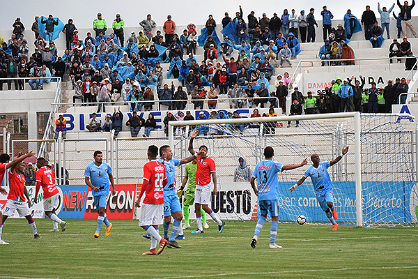 Queda poco para el final de la Liga 1 y Binacional vive su fiesta. (Foto: David Ramos / DeChalaca.com)