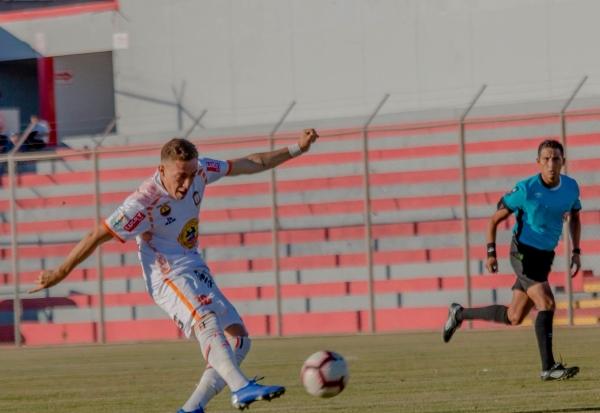 El juez Wilmer Villanueva no pasó mayores complicaciones en la goleada del equipo de Mario Viera. (Foto: Prensa Ayacucho FC)