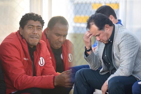 A Reynoso le preocupó más el partido que a Pajuelo y Bernales. (Foto: Álex Melgarejo / DeChalaca.com)