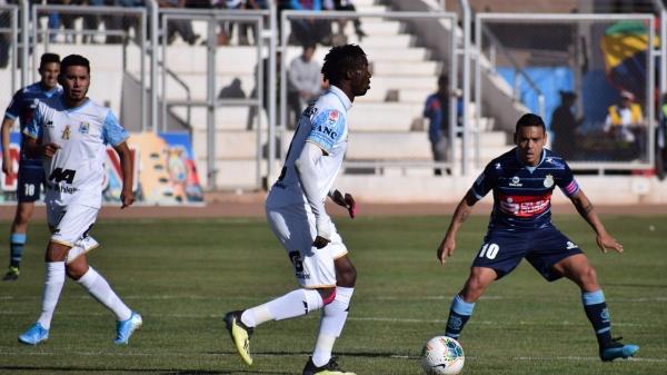 Para el complemento, el campeón del Apertura se mostró más sólido en defensa con Kambou Hervé como protagonista. (Foto: David Ramos / DeChalaca.com)