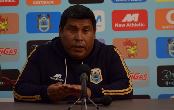 Javier Uturunco replanteó bien en el complemento y rescató un punto ante el equipo cusqueño. (Foto: David Ramos / DeChalaca.com)