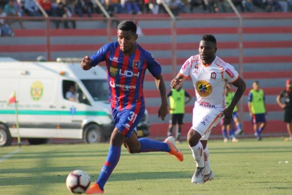 Carbajal llegó a Huánuco para el Clausura y sumó minutos y desborde por el carril izquierdo. (Foto: Julio Carrasco / DeChalaca.com)