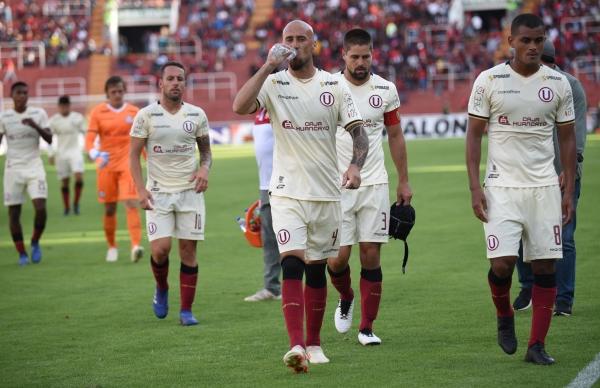 El uruguayo Rodríguez pasó con más pena que gloria por Ate. (Foto: Fredy Salcedo / DeChalaca.com)