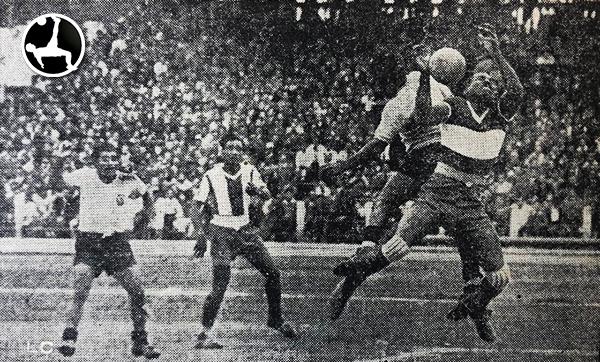 Alianza - Boys de 1950 (Recorte: diario La Crónica)