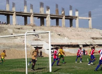 El Campeones del 36, aún con las obras a medio construir, bien podría albergar algunos partidos de Alianza Atlético en Segunda (Foto: Sybila Benites / diario La Hora de Piura)