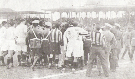 Primer clásico de la historia, cuando la rivalidad se empezaba a gestar