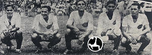 'Lolo' Fernández y 'Manguera' Villanueva comparten uniforme crema. (Recorte: diario La Crónica)