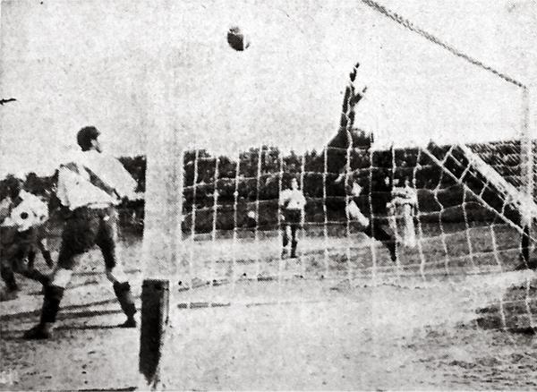 La 'Academia' siguió su senda triunfal, incluso, con un contundente 5-0 sobre Progresista Apurímac. (Recorte: diario El Comercio)