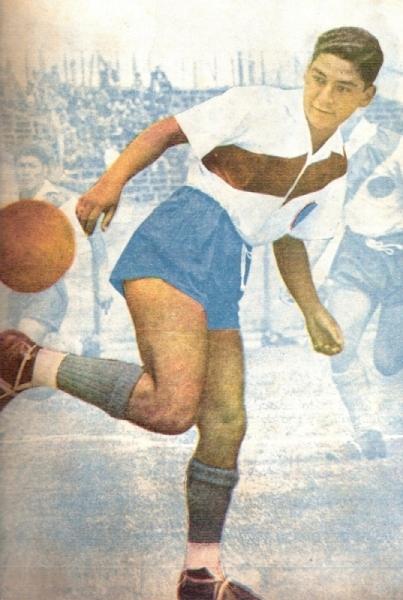 Eduardo Somocurcio, puntal de la campaña edil en 1950. (Recorte: revista Equipo)
