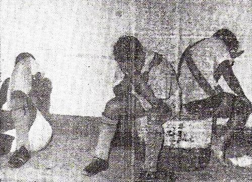 El drama del descenso en los vestuarios del Sucre luego de perder la categoría en la temporada de 1968 (Recorte: diario La Crónica)