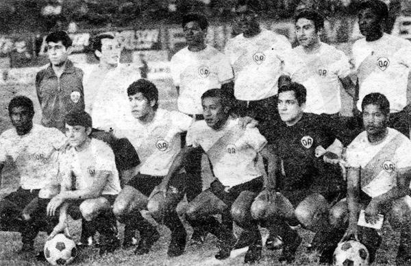 En el estadio Nacional también se presentó el Arica con la camiseta de franja celeste durante 1971 (Foto: Facebook)