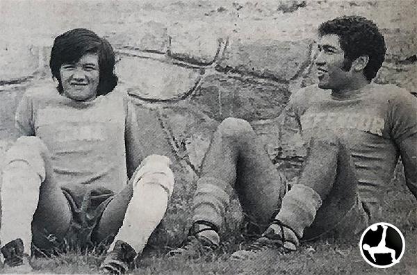 Teodoro Wuchi y Walter Escobar tenían la responsabilidad de ser titulares en un Defensor Lima que quería ser campeón. (Recorte: diario La Crónica)