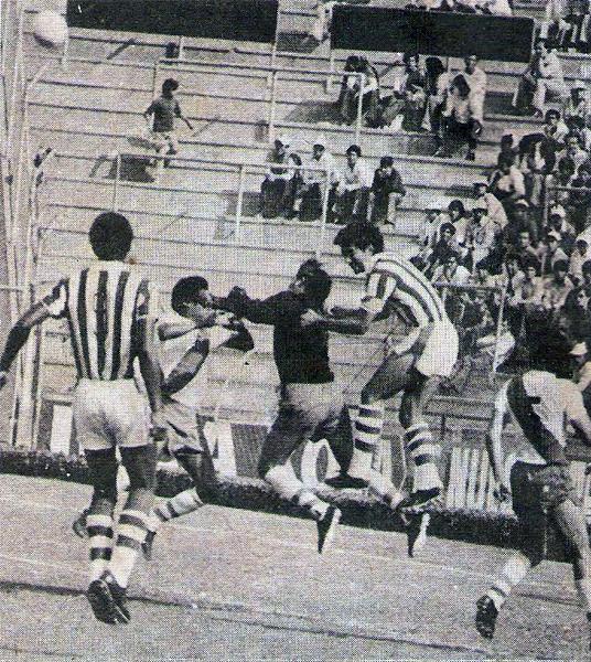 Durante 1975, Alfonso Ugarte le aguó la fiesta a varios equipos que se presumía como favoritos, tal como con Atlético Chalaco, al que venció a domicilio por 2-3 (Foto: revista Otro Gol)