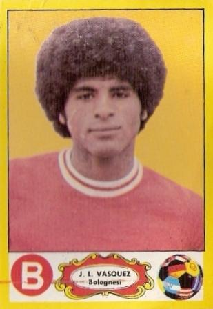 El recordado 'Camote' Vásquez anotó el tanto decisivo en el último triunfo 1-2 de 'Bolo' a domicilio sobre Boys (Cromo: álbum Descentralizado 1977-1978, Editorial Navarrete)