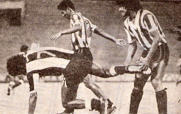 En el inicio de la temporada 1980, en su primer partido oficial jugado de noche en Matute, Alianza cayó 0-1 ante Huaral. (Recorte: revista Ovación)