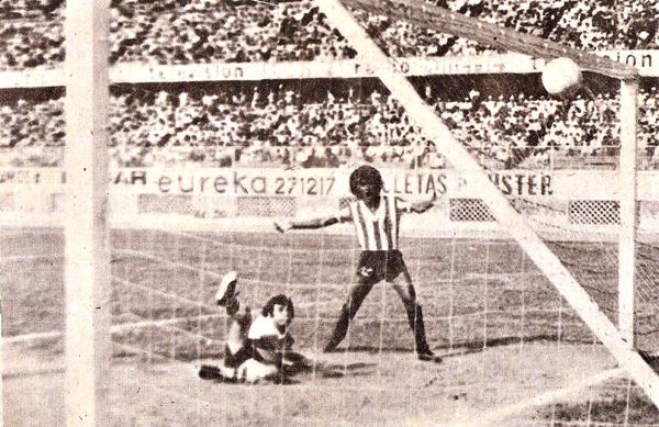 1980 fue un año irregular para Huaral, sin embargo sacó un interesante 1-3 sobre Deportivo Municipal. (Recorte: revista Ovación)