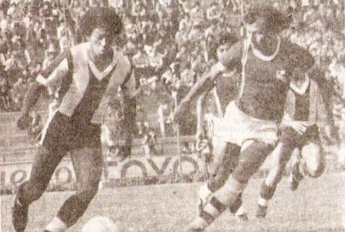 Torino visita Matute para ser goleado 4-0 en 1981. Ese año jugó la Libertadores y además bajó (Foto: revista Ovación)