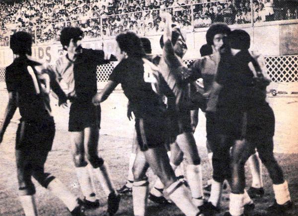 El cuadro 'Dominó' tuvo momentos de apremio durante la campaña, pero la fortaleza del grupo permitió que Melgar retomara el paso (Recorte: revista Ovación)