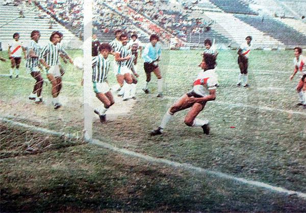 El primer partido del campeonato de 1983 lo disputaron Municipal y Huancayo FC. La cantidad de partidos con el actual reglamento de televisión hubiera cambiado un poco la economía de los equipos en ese momento (Recorte: diario La Crónica)