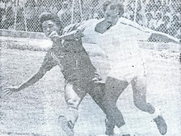 Atlético Grau contra el Deportivo Pucallpa por el Descentralizado 1986. El cuadro del Oriente habría tenido difícil su acceso a Primera sin regionales (Recorte: diario El Tiempo de Piura)
