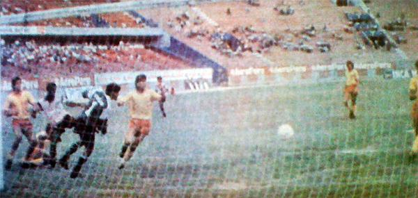 Empezó mal el Hexagonal, pero San Agustín recuperó el paso en las últimas fechas ganando partidos como éste ante Sport Boys (Recorte: diario La Crónica)