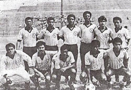 El Boys de 1987: aquel que inscribió el primer manchón en la historia rosada (Foto: diario El Nacional)
