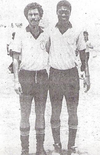 Las dos principales cartas del Boys '87: Carlos 'Piticlín' Palacios y Andrés 'Balán' Gonzales (Foto: diario El Nacional)
